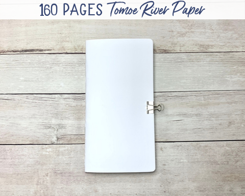 tomoe river paper travelers notebook insert