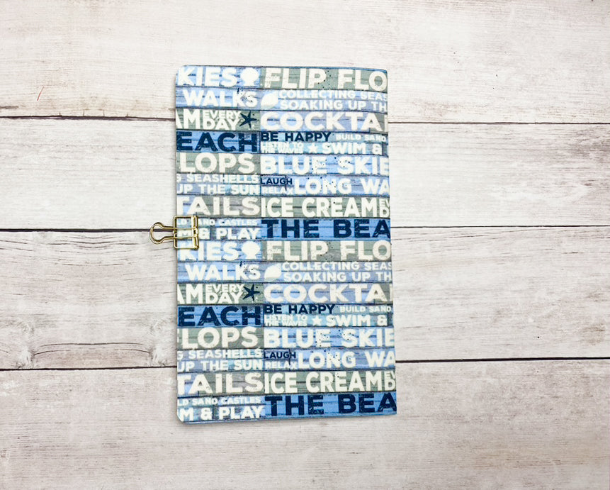 Take Me To The Beach Travelers Notebook Insert