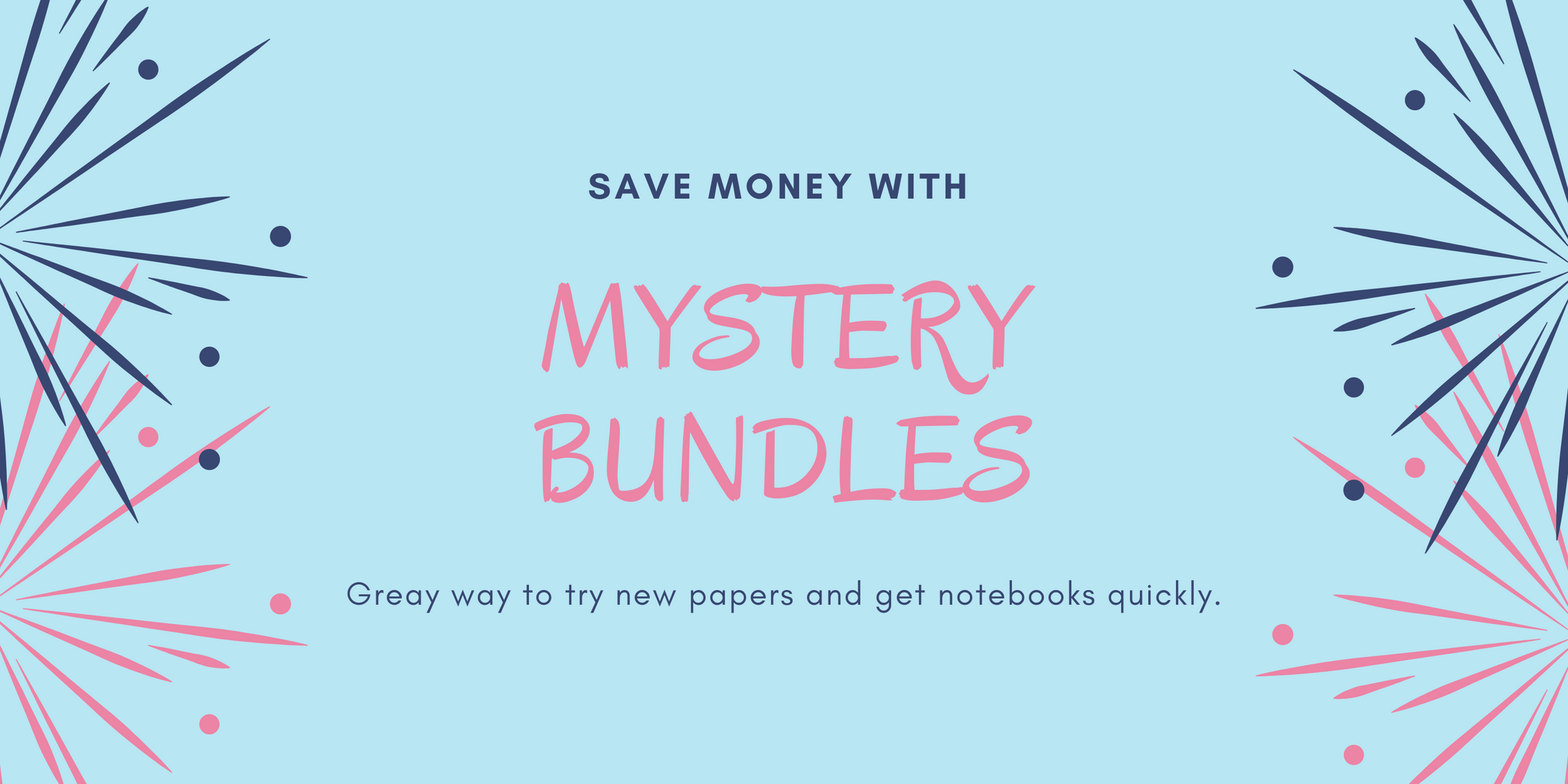 Mystery Bundle Notebooks