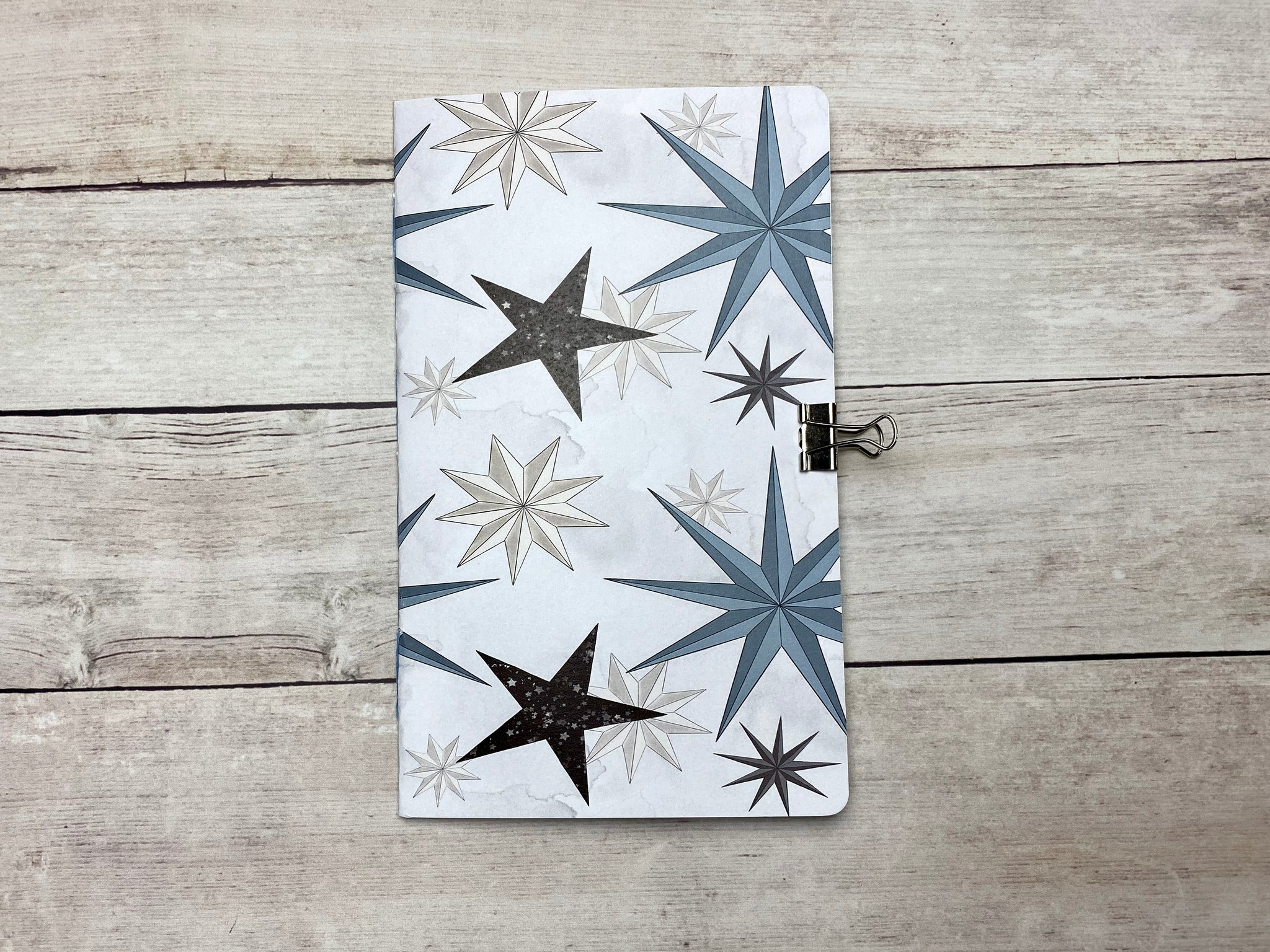 Winter Stars Travelers Notebook Insert
