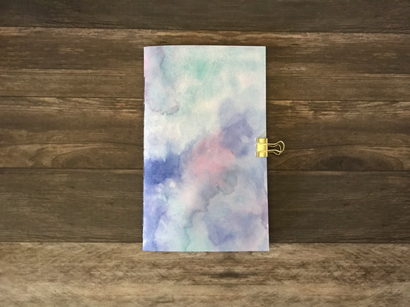 Multi-Color Watercolor Travelers Notebook Insert