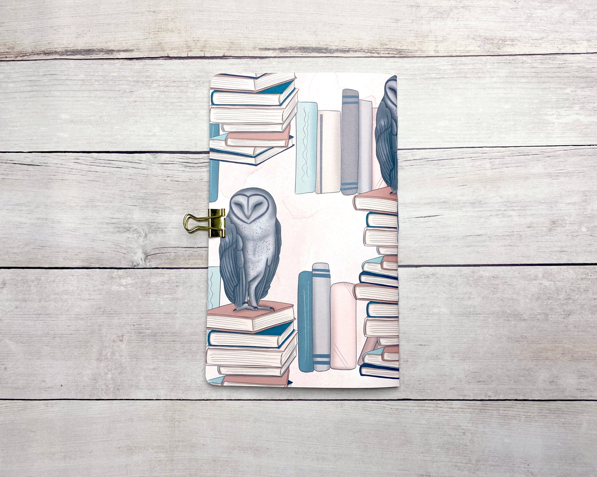 Bookish Travelers Notebook Insert