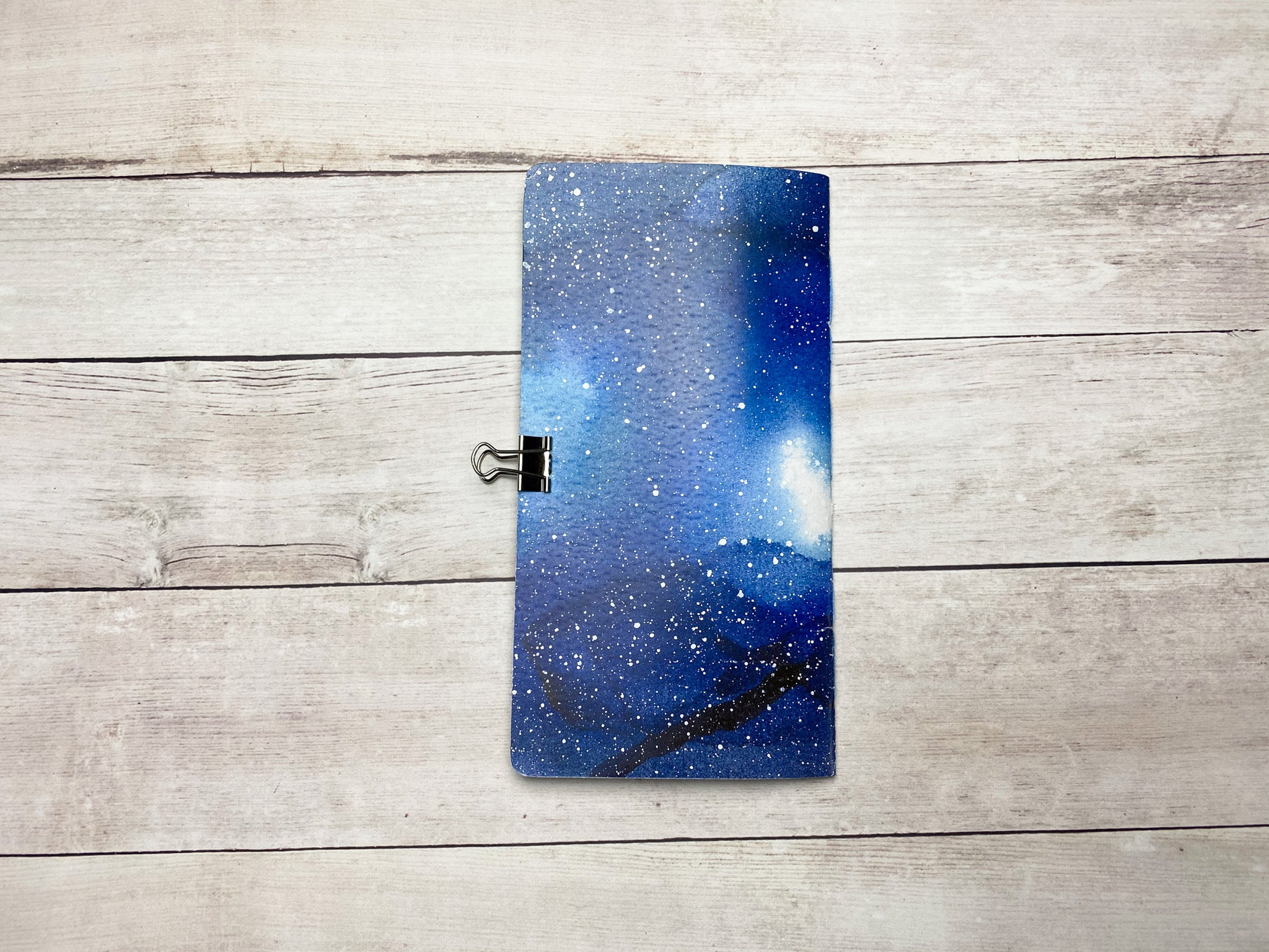 galaxy travelers notebook insert in various sizes
