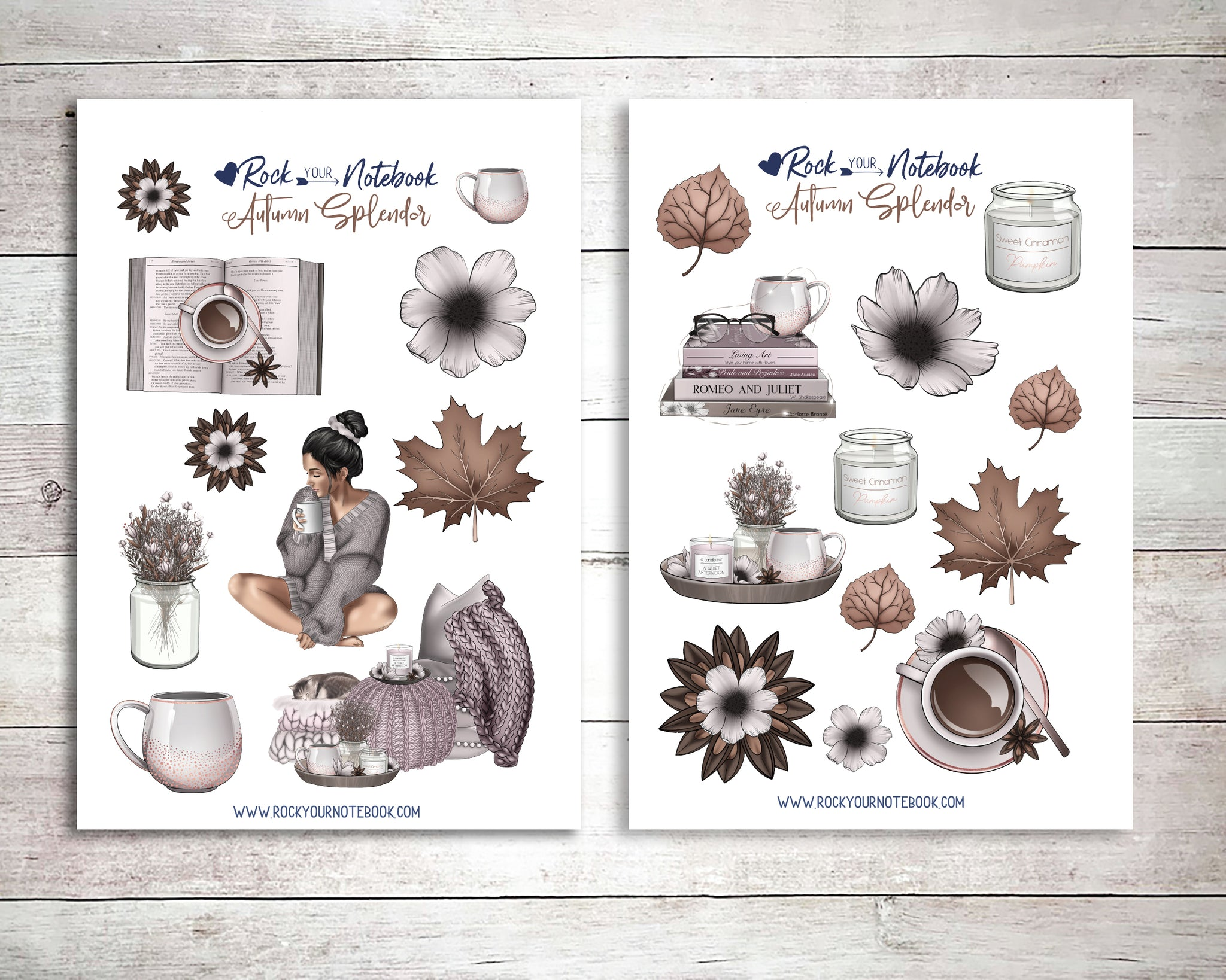 Autumn Splendor Decorative Stickers