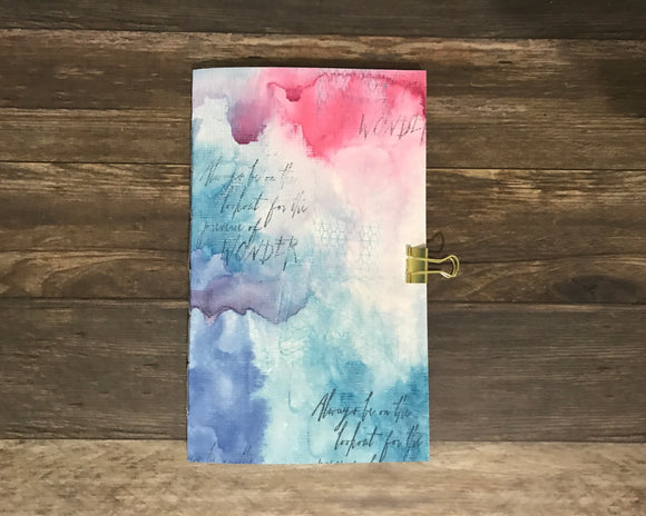 Wonder Watercolor Travelers Notebook Insert