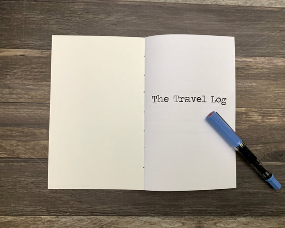 The Travel Log Travelers Notebook Insert