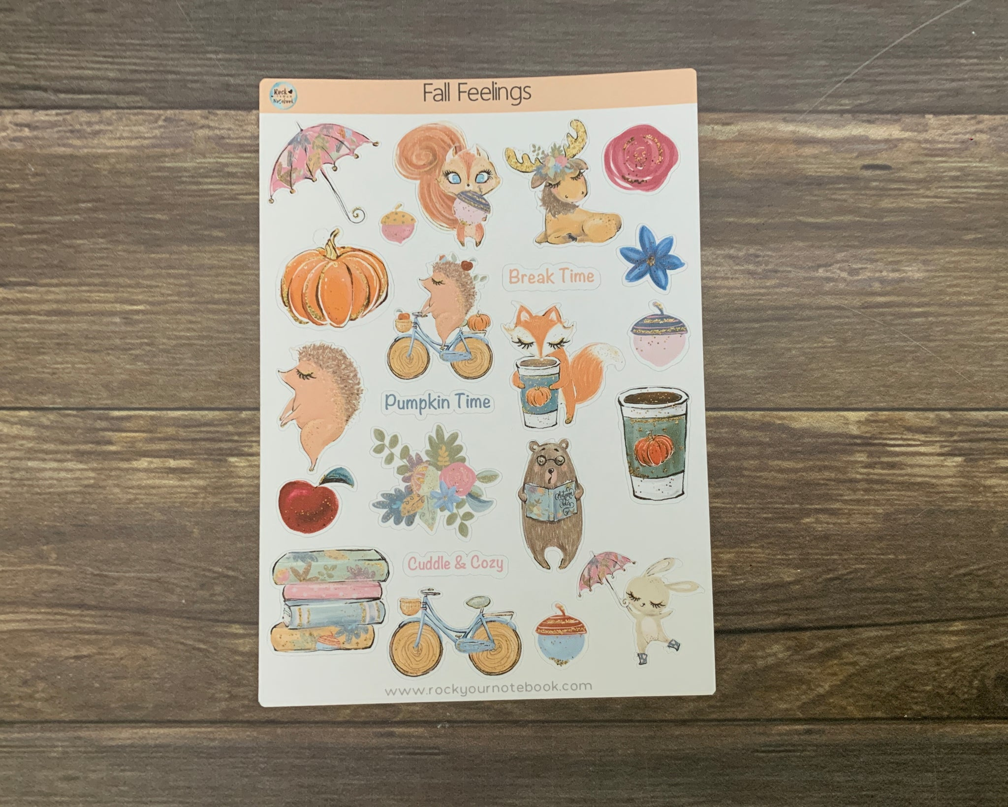Fall Feelings Stickers