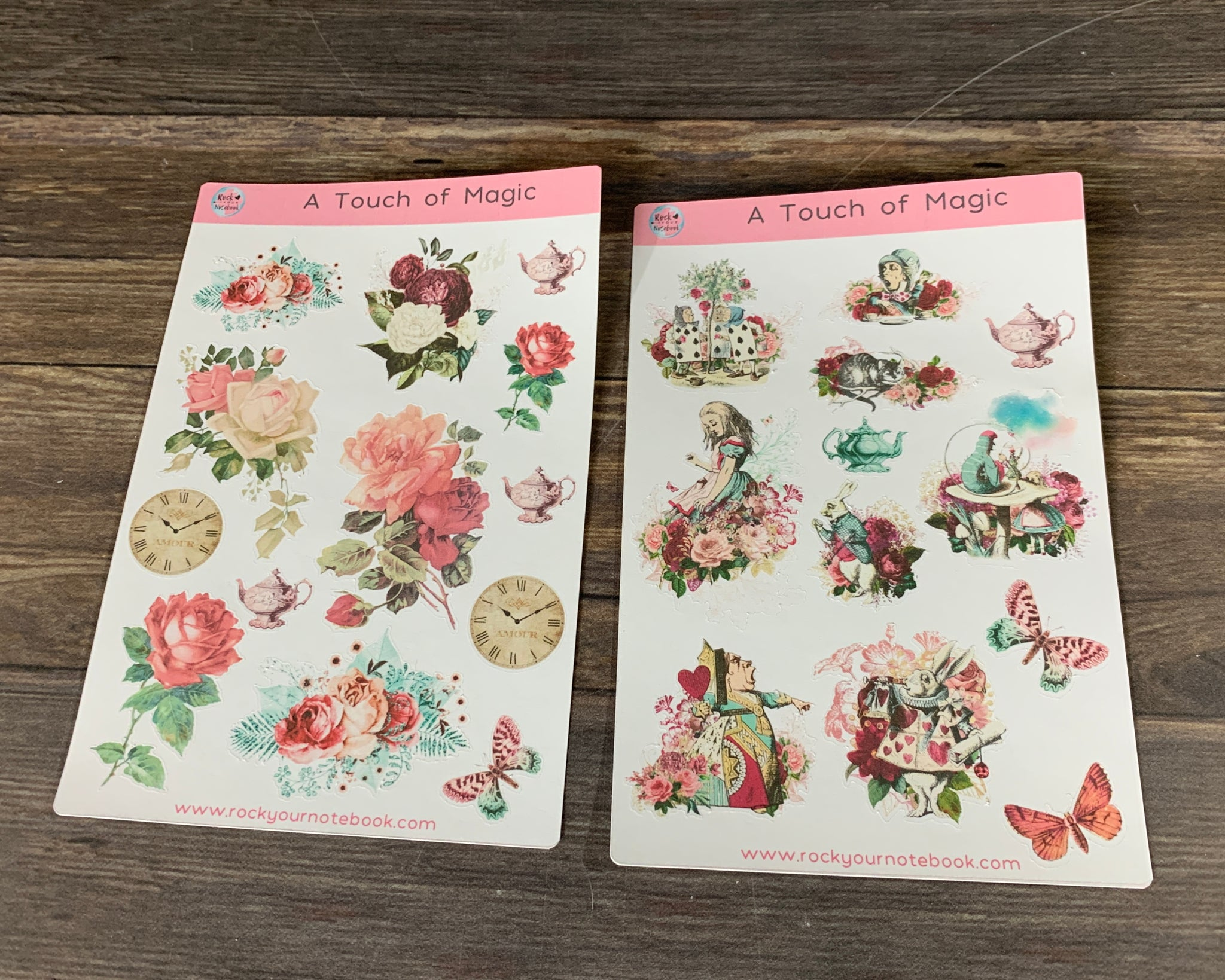 Magical Alice Decorative Stickers
