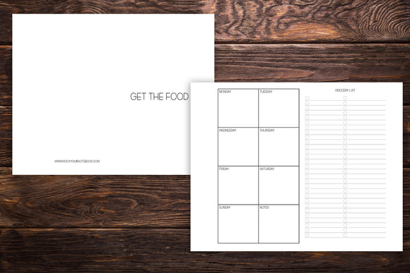 Get The Food Travelers Notebook Insert