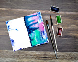 hot press watercolor paper travelers notebook