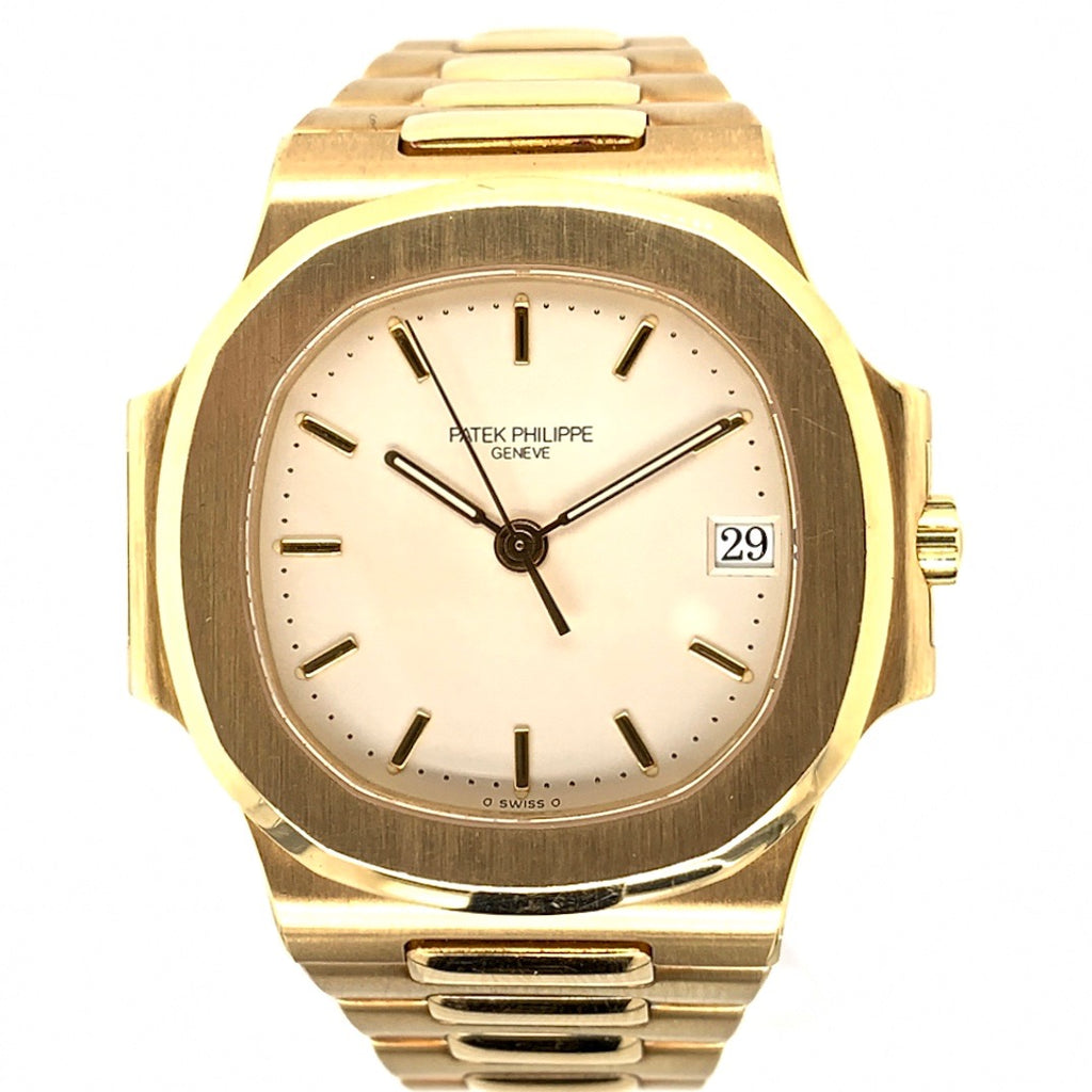 Patek Philippe Nautilus 18K Yellow Gold Cream Dial Ref. 3800J/1J-001