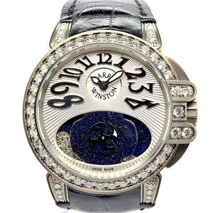Harry Winston Lady Z Zalium & Diamonds