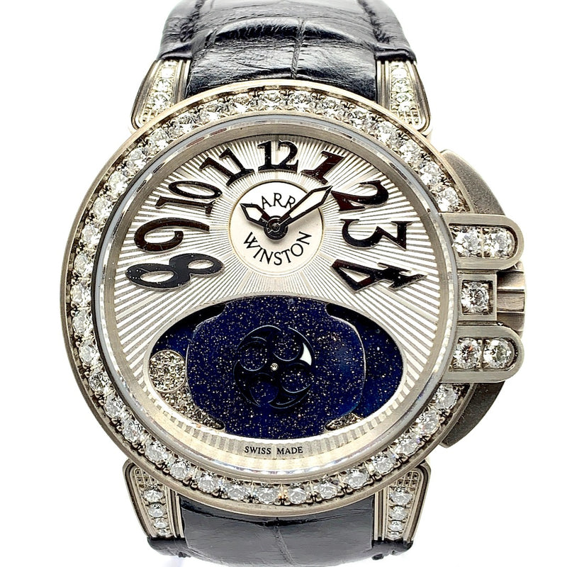 Shop at Twain Time Harry Winston Lady Z Zalium & Diamonds Ref. 400-UAMP36