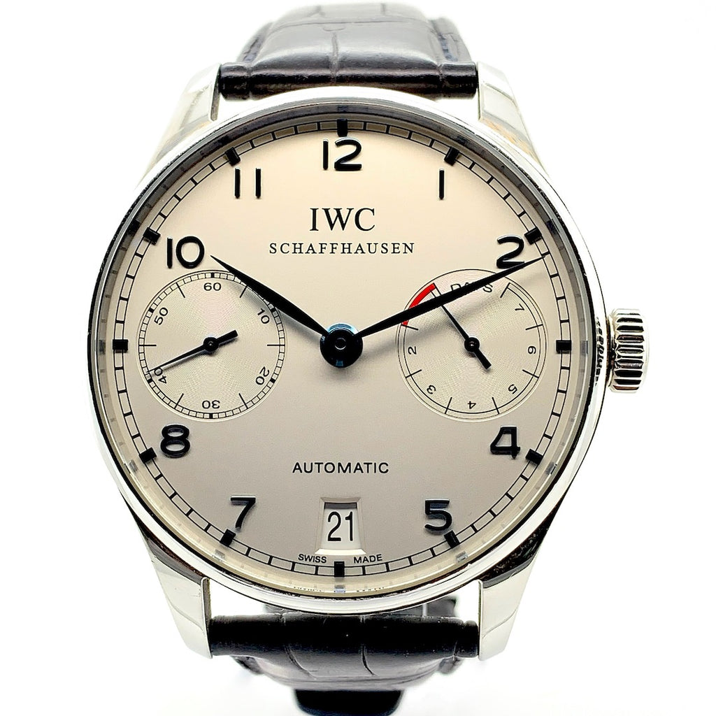 IWC Portugieser 7 Days Power Reserve Stainless Steel
