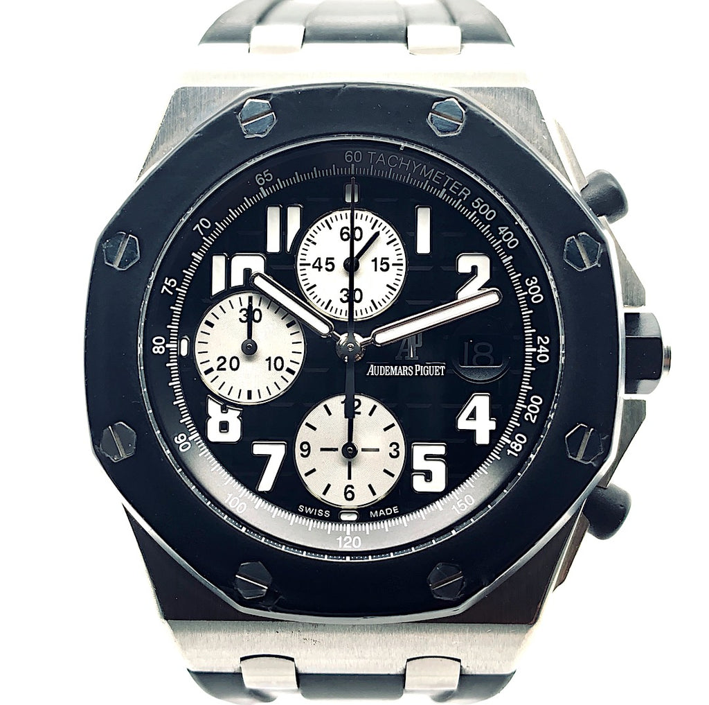 Audemars Piguet Royal Oak Offshore Chronograph Rubber-Clad Stainless Steel