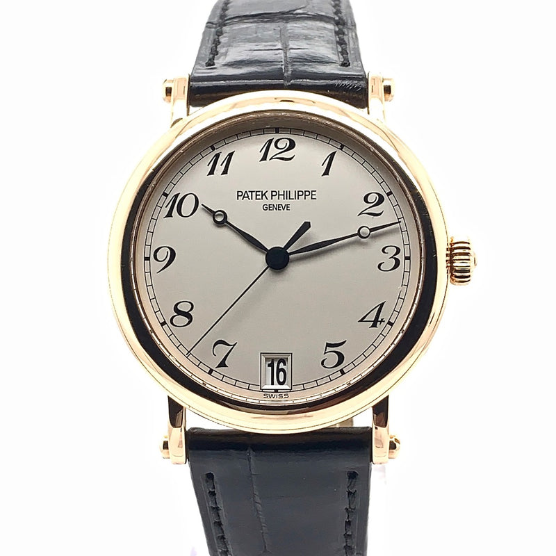 Patek Philippe Calatrava Officer's Watch 18K Rose Gold Ref. 5053R-001