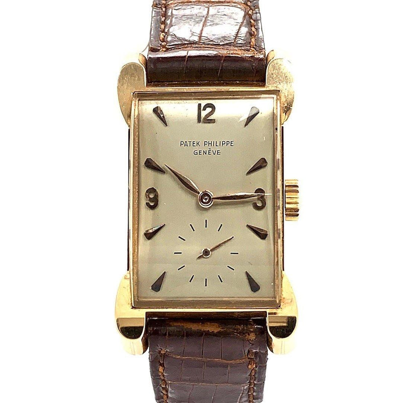 Patek Philippe 18K Rose Gold Ref. 2503R With Bunny Ear Lugs AKA Topolino 1950's