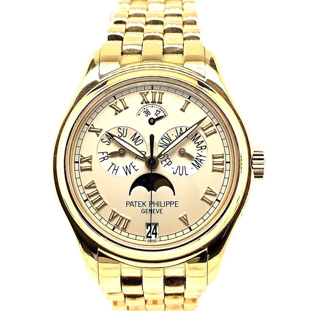 Patek Philippe Annual Calendar Moon Phases 18K Yellow Gold Ref. 5036/1J