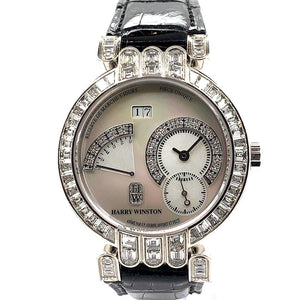 Harry Winston & F.P. Journe Opus One Power Reserve Platinum & Diamonds