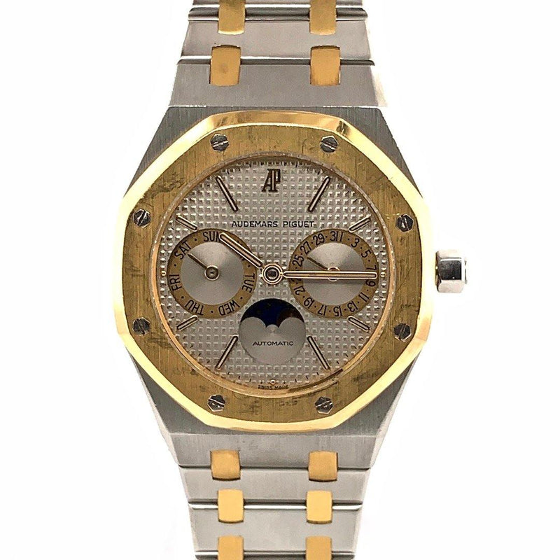 Audemars Piguet Royal Oak Two Tone Day Date Moon Phases Ref. 25594SA
