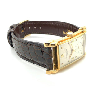 Patek Philippe Canapé 18K Yellow Gold Ref. 2415J Circa 1940's