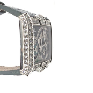Harry Winston Avenue Squared A2 18K White Gold & Diamonds