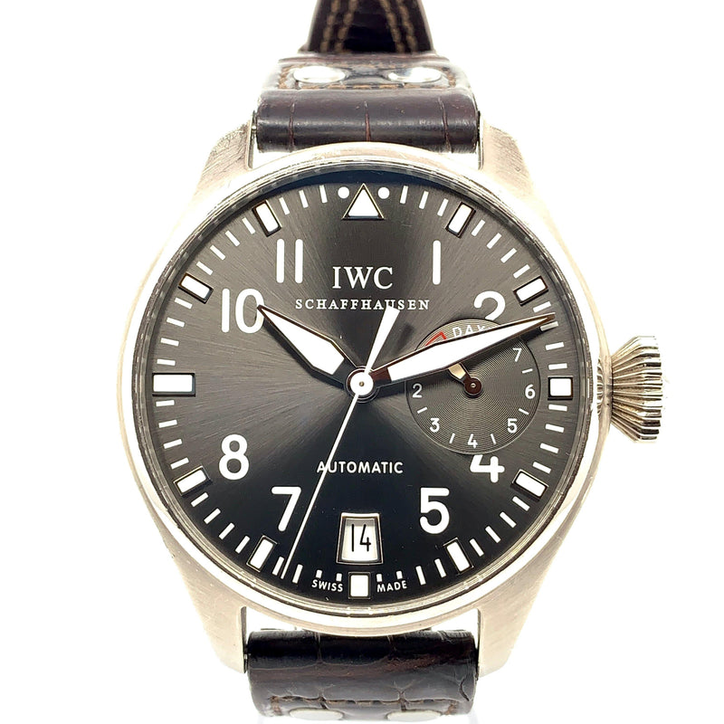 IWC Big Pilot 7 Days Power Reserve 18K White Gold