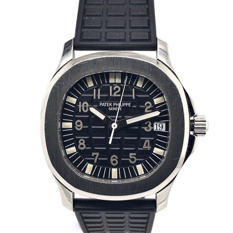 Patek Philippe Aquanaut Stainless Steel Black Embossed Dial First Series Ref. 5060A-001 Limited Edition
