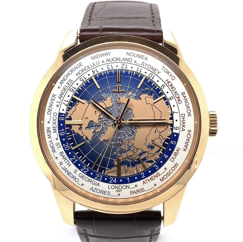 Jaeger LeCoultre Geophysic Universal Time 18K Rose Gold