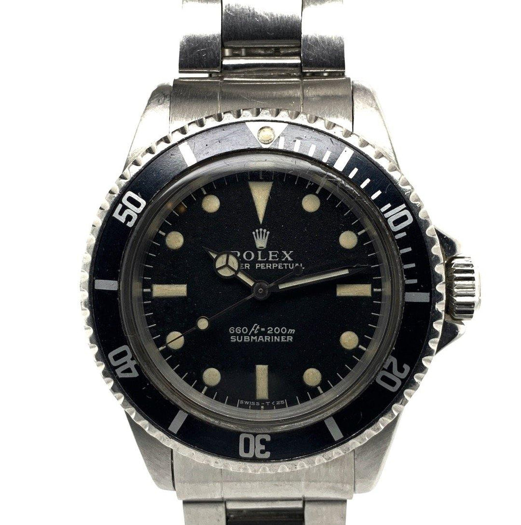Rolex Submariner Vintage Stainless Steel Ref. 5513 Feet First Serif Dial 1966