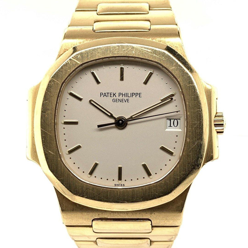 Patek Philippe Nautilus 18K Yellow Gold Cream Dial Ref. 3800J