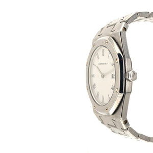 Audemars Piguet Royal Oak Stainless Steel Roman White Dial 33mm Quartz