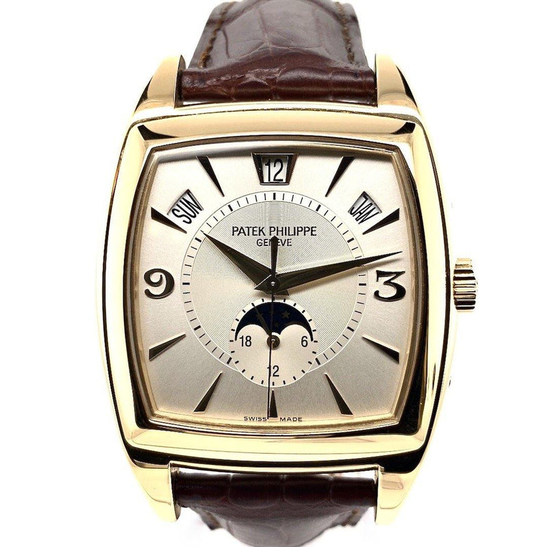 Patek Philippe Gondolo Annual Calendar Moon Phases 18K Yellow Gold Ref. 5135J