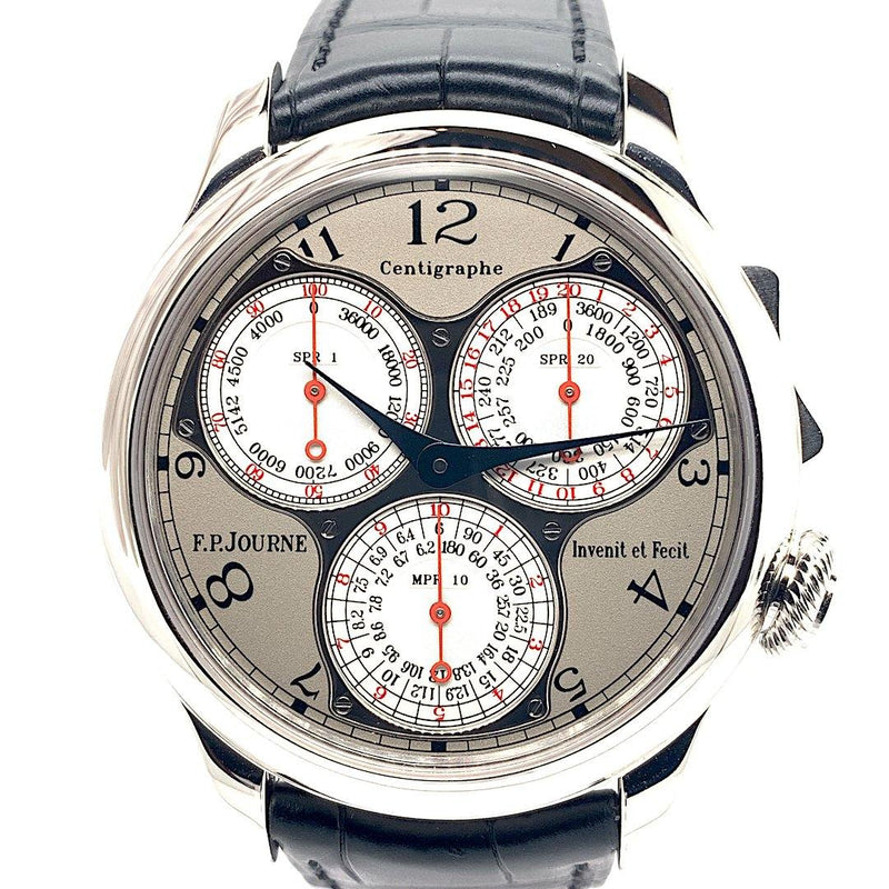 Certified Pre-Owned F.P. Journe Centigraphe Souverain Platinum Multi-Scale Chronograph | Twain Time