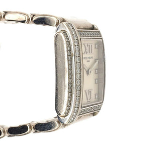 Patek Philippe Twenty-4 Ref. 4908G 18K White Gold and Diamonds
