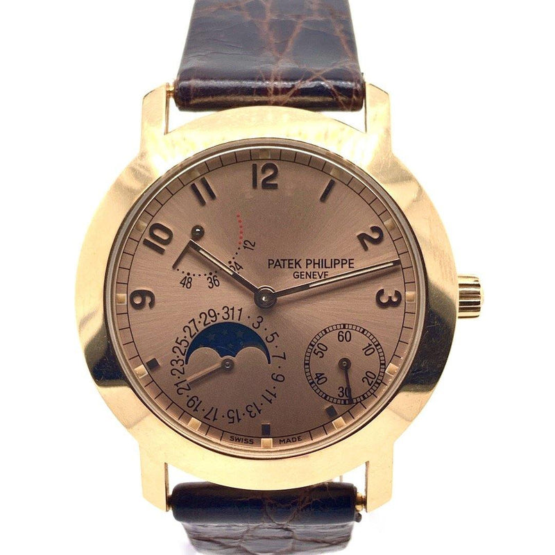 Patek Philippe Power Reserve Moon Phase 18K Rose Gold Ref. 5055R