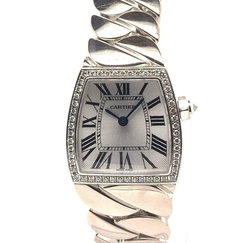 Cartier La Dona 18K White Gold & Diamonds