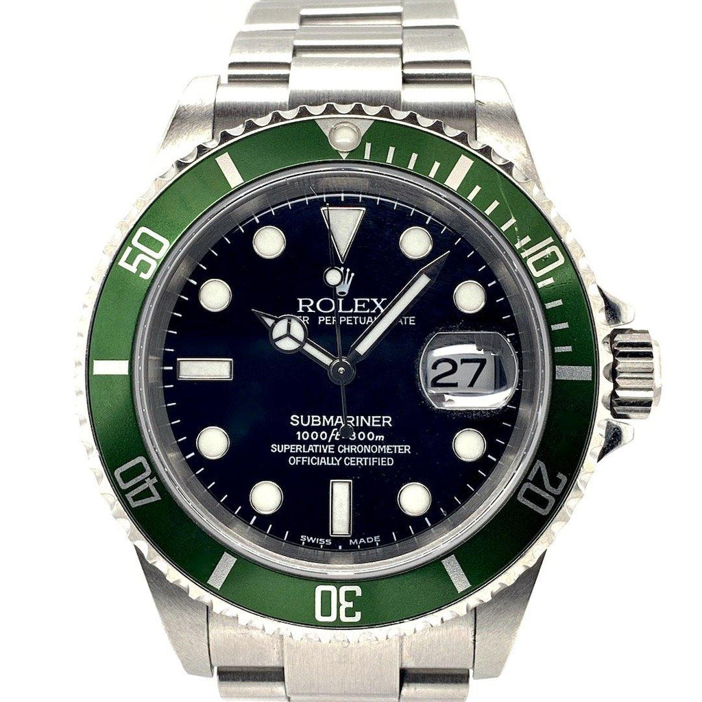 "Rolex Submariner Kermit 50th Anniversary Edition MARK 1 ""Fat 4"" Dial Ref. 16610LV"