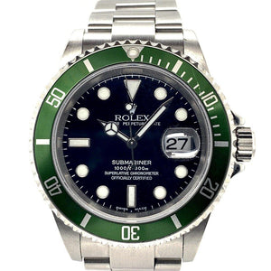 Shop Pre-Owned Rolex Submariner 16610LV Online | Twain Time