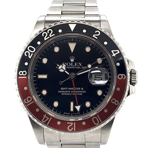 "Rolex GMT-MASTER II Coke Stainless Steel ""Fat Lady"" Ref. 16760"