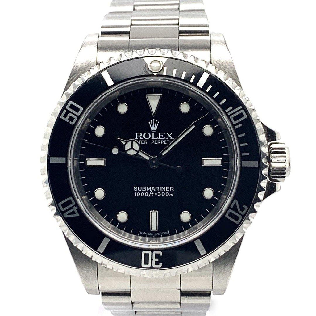 Rolex Submariner No Date Stainless Steel Ref. 14060M