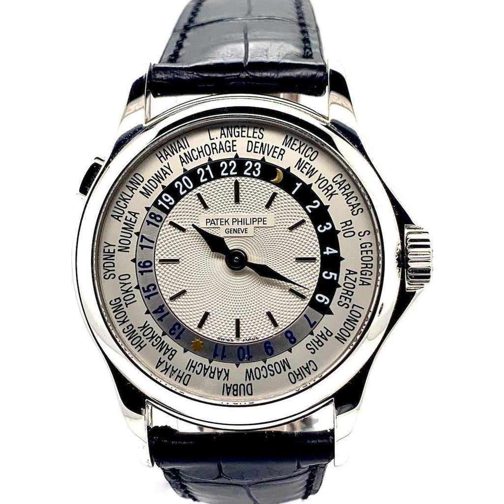 Patek Philippe World Time 18K White Gold Ref. 5110G-001