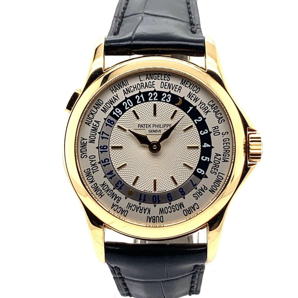 Patek Philippe World Time 18K Yellow Gold Ref. 5110J-001