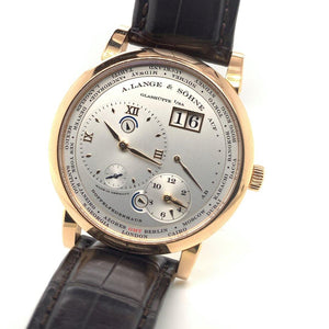 A. Lange & Söhne Lange 1 Time Zone 18K Rose Gold
