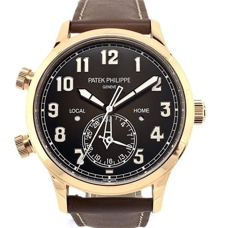 Patek Philippe Pilot Travel Time 18K rose Gold Ref. 5524R