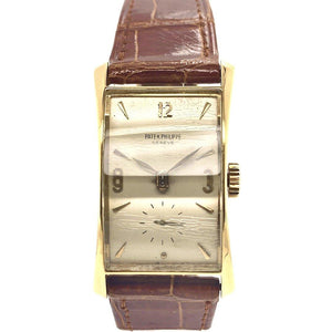 "Patek Philippe Vintage ""The Hour Glass"" 18K Yellow Gold Ref. 1593J"