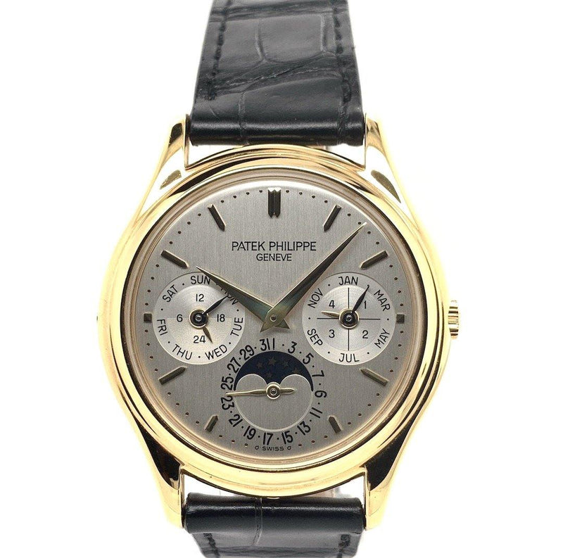 Patek Philippe Perpetual Calendar Moon Phase 18K Yellow Gold Ref. 3940J