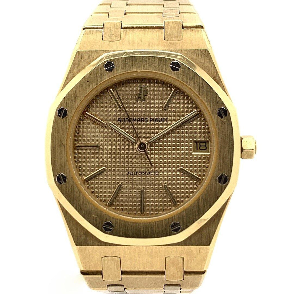 Audemars Piguet Royal Champagne Dial 18K Yellow Gold 36mm Ref. 14700BA