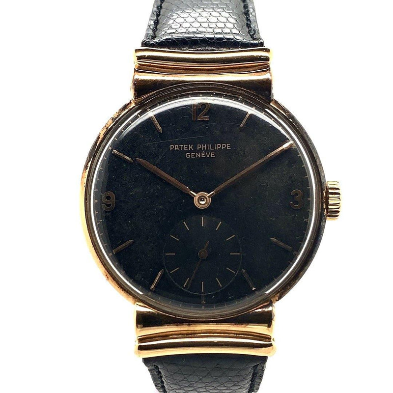 Patek Philippe Calatrava 18K Rose Gold Fancy Lugs Ref. 1585R