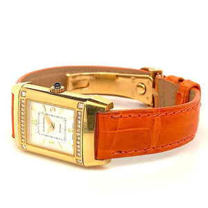 Jaeger-LeCoultre Reverso Duetto Joaillerie 18K Yellow Gold & Diamonds
